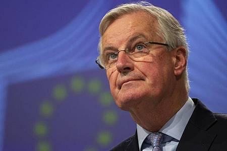 Michel Barnier ist Leiter der Task Force der Europäischen Kommission für die Beziehungen zum Vereinigten Königreich. Foto: Virginia Mayo/AP/dpa