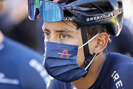 Wird erst 2021 wieder Rennen fahren: Der Kolumbianer Egan Bernal. Foto: -/pool BELGA/dpa