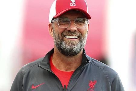 Jürgen Klopp könnte sich Lionel Messi gut beim FC Liverpool vorstellen. Foto: Matthias Schrader/AP/dpa