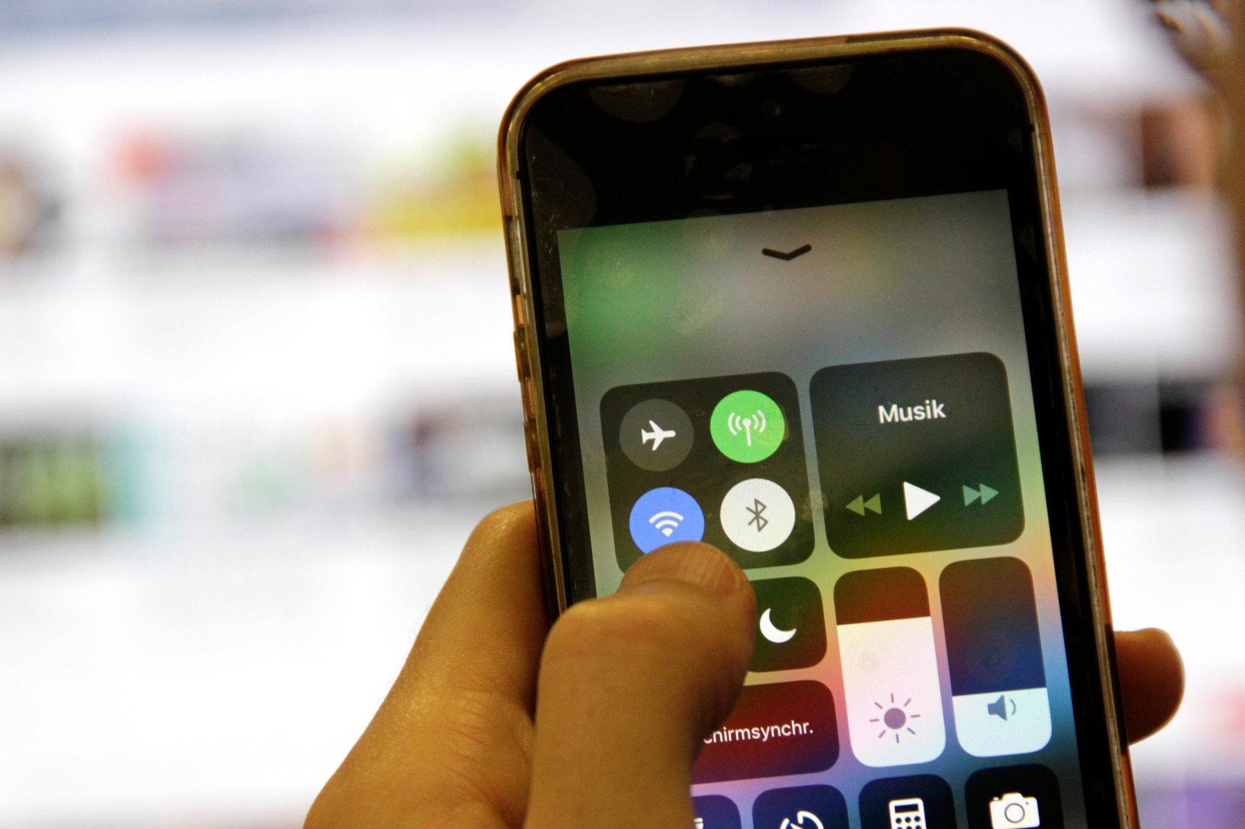 wlan am smartphone