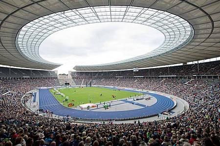 Zwar nicht vor großer Kulisse, aber das Istaf 2020 in Berlin wird stattfinden. Foto: Soeren Stache/dpa