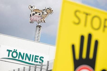 Die Fleischfabrik Tönnies erlebt einen Corona-Massenausbruch. Foto: Friso Gentsch/dpa