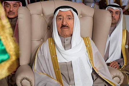 Scheich Sabah al-Ahmed al-Sabah, Emir von Kuwait, ist tot. Foto: Fethi Belaid/Pool AFP/dpa