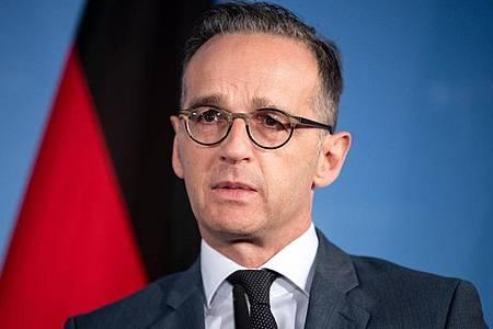 «Transatlantische Beziehungen außerordentlich wichtig»: Bundesaußenminister Heiko Maas. Foto: Bernd von Jutrczenka/dpa