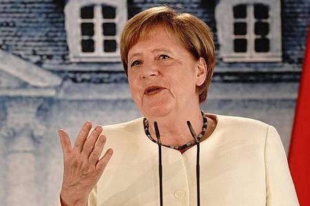 Bundeskanzlerin Angela Merkel (CDU) soll in den nächsten sechs Monaten nicht nur den Weg aus der Rezession weisen und den Brexit einigermaßen glimpflich über die Bühne bringen. Sie soll Europa einen und modernisieren. Foto: Kay Nietfeld/dpa-Pool/dpa