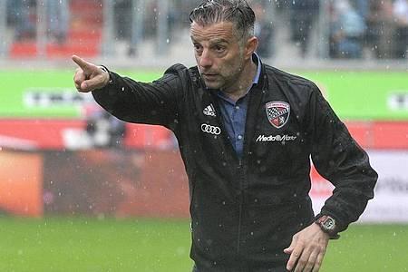 Will mit Ingolstadt in die 2. Liga zurück: FCI-Coach Tomas Oral. Foto: Stefan Puchner/dpa