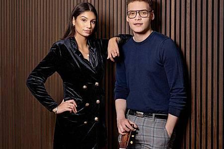 Ben & Tan sind für Dänemark dabei. Foto: Agnete Schlichtkrull/EBU/dpa
