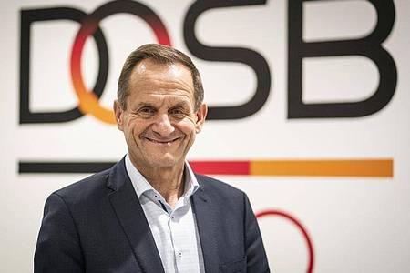 Alfons Hörmann ist der Präsident des Deutschen Olympischen Sportbundes (DOSB). Foto: Frank Rumpenhorst/dpa