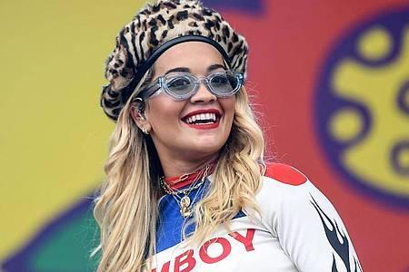 Topstar Rita Ora macht bei «Stream Aid 2020» mit. Foto: Britta Pedersen/dpa-Zentralbild/dpa