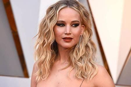 Jennifer Lawrence bei der Oscar-Verleihung 2018. Foto: Jordan Strauss/Invision/AP/dpa