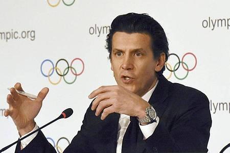 «Gesundheit steht an erster Stelle», sagt Christophe Dubi, IOC-Geschäftsführer für die Olympischen Spiele. Foto: ./kyodo/dpa