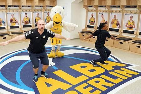 Alba Berlin sorgt für Sport in den Wohn- und Kinderzimmern. Foto: -/ALBA BERLIN/dpa