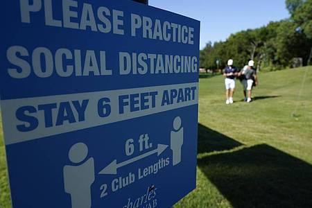 Nach der Corona-Pause startet die PGA-Tour wieder. Foto: David J. Phillip/AP/dpa