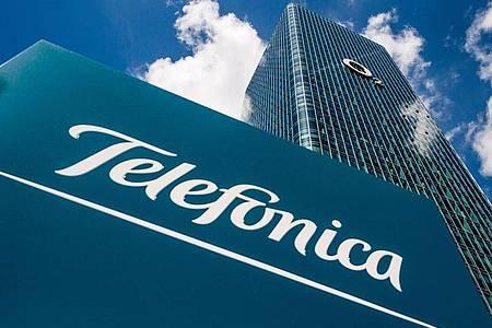 Der Deutschland-Sitz von Telefónica in München. Foto: Lino Mirgeler/dpa