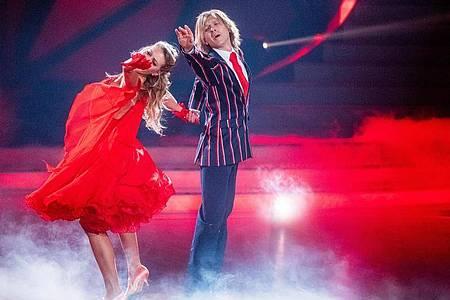 Für sie ist die Show zu Ende:John Kelly und Regina Luca. Foto: Rolf Vennenbernd/dpa