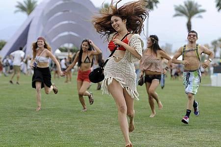 Auf Empfehlung der Gesundheitsbehörde wurde das Coachella-Festival verschoben. Foto: Chris Pizzello/AP/dpa