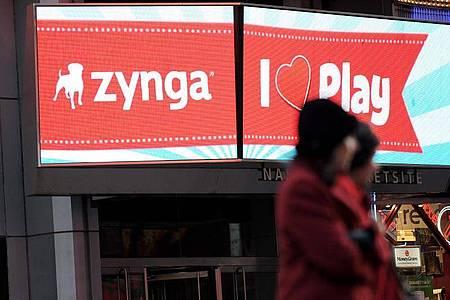Zynga übernimmt für 1,8 Milliarden Dollar den türkischen Handyspiele-Entwickler Peak. Foto: Justin Lane/EPA/dpa