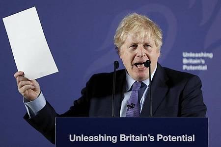 Kritiker werfen Boris Johnson vor, ein Großmaul und schlechter Krisen-Manager zu sein, der beim Brexit einen Schlingerkurs fahre. Foto: Frank Augstein/AP/dpa