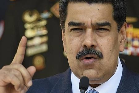 Nicolas Maduro, Präsident von Venezuela. Foto: Matias Delacroix/AP/dpa