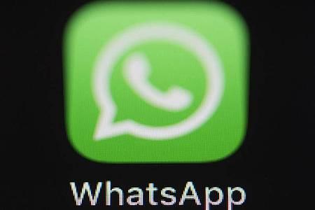 Das Logo der Messenger-App WhatsApp. Foto: Silas Stein/dpa