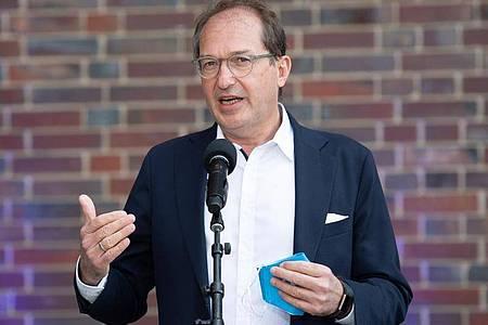 Alexander Dobrindt, Vorsitzender der CSU-Landesgruppe im Deutschen Bundestag. Foto: Paul Zinken/dpa-Zentralbild/dpa