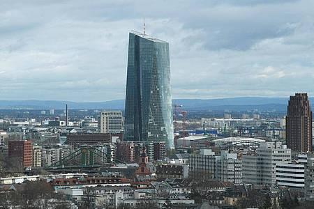 Die Zentrale der Europäischen Zentralbank in Frankfurt am Main. Foto: Arne Dedert/dpa