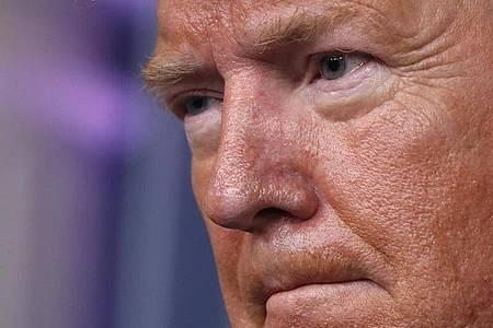 US-Präsident Donald Trump ruft zum Zusammenhalt auf. Foto: Alex Brandon/AP/dpa