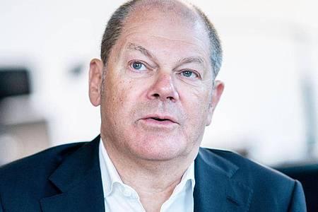 Vizekanzler Olaf Scholz: «Es spricht vieles dafür, die Kanzlerkandidatur der SPD noch in diesem Jahr zu klären.». Foto: Kay Nietfeld/dpa