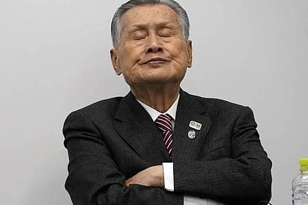 Yoshiro Mori ist der Präsident des Organisationskomitees der Olympischen Spiele in Tokio. Foto: Eugene Hoshiko/AP/dpa