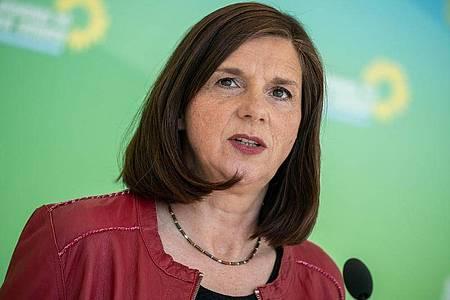 Katrin Göring-Eckardt, Fraktionsvorsitzende von Bündnis 90/Die Grünen im Bundestag. Foto: Michael Kappeler/dpa