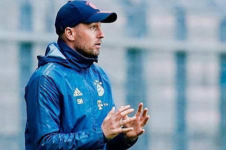Nimmt seine Arbeit bei 1899 Hoffenheim auf:Trainer Sebastian Hoeneß. Foto: Uwe Anspach/dpa