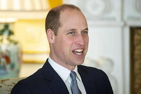 Prinz William, Herzog von Cambridge, wirbt für mehr Umweltschutz. Foto: Victoria Jones/PA Wire/dpa