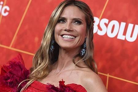 Heidi Klum bei der amfAR Inspiration Gala 2018 in Los Angeles. Foto: Jordan Strauss/Invision/AP/dpa