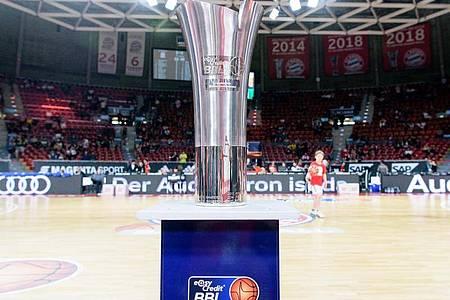 Zehn Teams der Basketball-Bundesliga werden in München einen Meister ausspielen. Foto: Matthias Balk/dpa