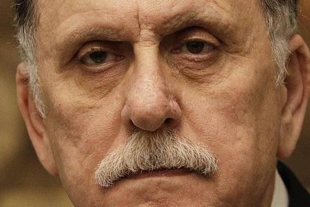Fajis al-Sarradsch, Ministerpräsident von Libyen, plant seinen Rücktritt. Foto: Gregorio Borgia/AP/dpa