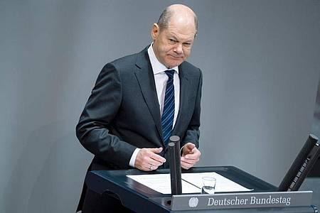 Bundesfinanzminister Olaf Scholz (SPD). Foto: Bernd von Jutrczenka/dpa