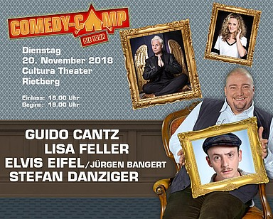 Eckdaten des Comedy Camps in Rietberg