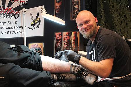 Fotos von der Tattoo Convention in Höxter