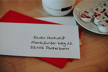 Brief an Radio Hochstift