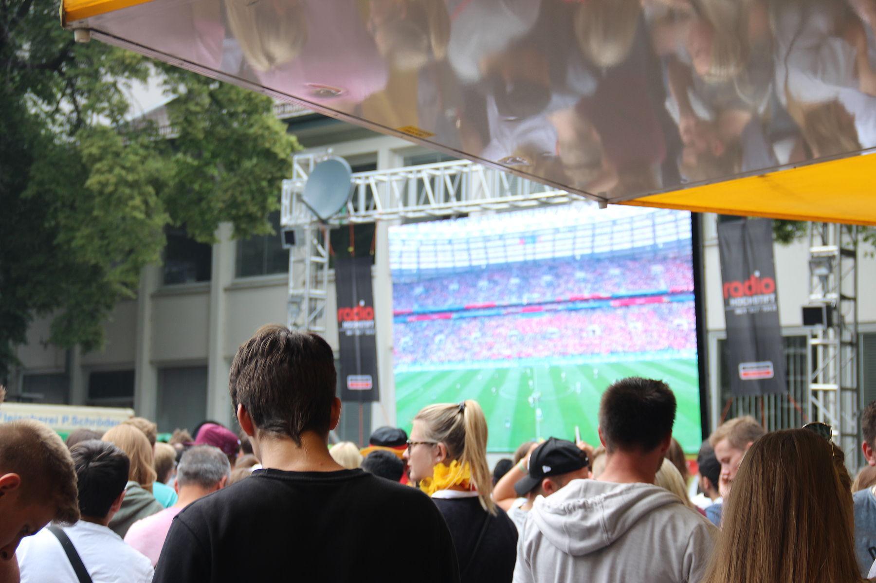 Public Viewing in Paderborn