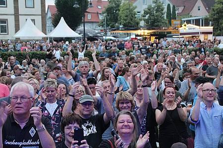 Boa Rocks Publikum