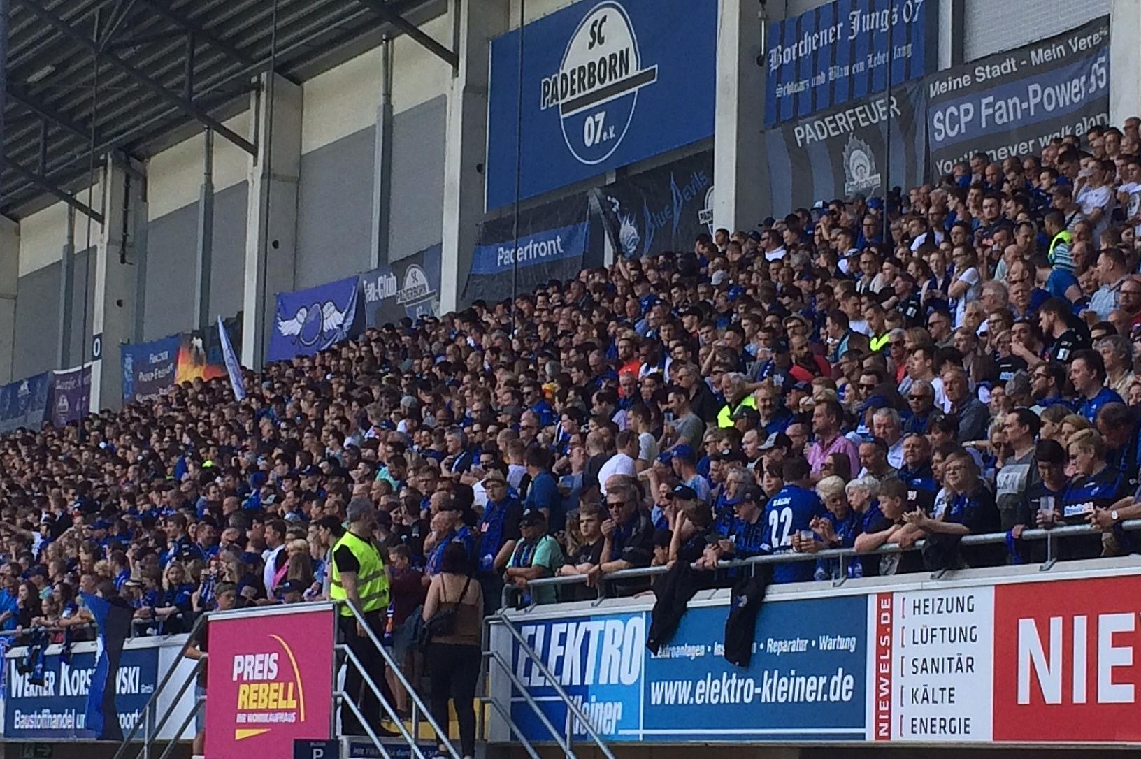 Fans des SC Paderborn