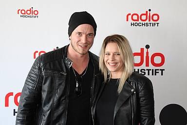 Manuel Hahn und Janine Meyer zu Besuch bei Radio Hochstift