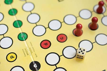 Spielbrett Gesellschaftsspiel