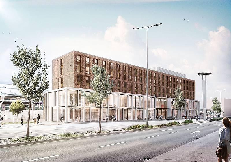 Paderborn Neubau Des Hoffner Mobelhauses Nw De