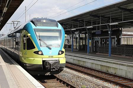 Zug Richtung Paderborn