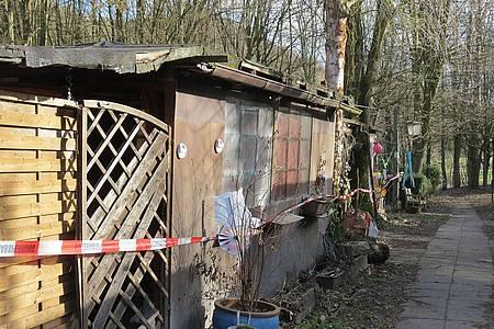 Gartenhaus auf dem Campingplatz Lügde