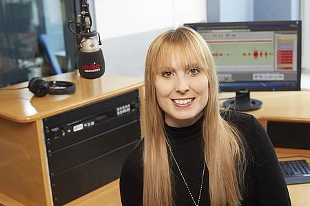 Julia Kleinekemper im Studio